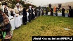 من فعالية فولكلورية في مهرجان يوم محافظة دهوك