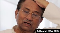 FILE: Former Pakistani military dictator Pervez Musharraf.