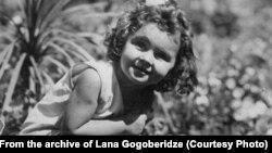 Лана Гогоберидзе в детстве