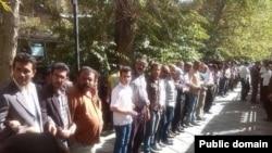 گردهمآیی دروایش گنابادی در تهران در سال گذشته