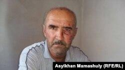 Уразбай Данияров, житель села Абай. 2 августа 2016 года.