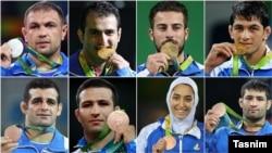 همه مدالآوران ایران در المپیک ۲۰۱۶ ریو