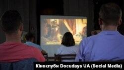 Кіноклуб Docudays у креативному просторі «Вежа», Маріуполь. Серпень 2019 року