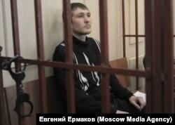 Максим Панфилов в Басманном суде Москвы
