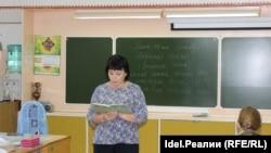 Урок марийского языка
