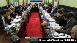 جلسة لمجلس محافظة الأنبار