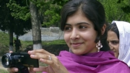 Malala Yousafzai in the Swat Valley, 09 Oct 2012