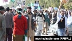 Պակիստան - Բողոքի ցույցը մայրաքաղաք Իսլամաբադում, 15-ը հունվարի, 2013թ.