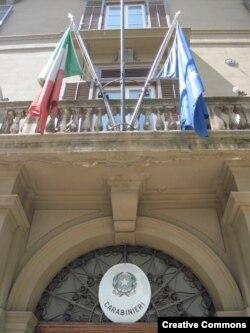 Штаб карабинеров в Палермо