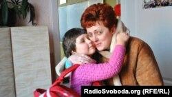 Майя Нагорняк із донькою Лізою
