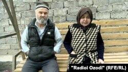 Родители Ахтама Олимова