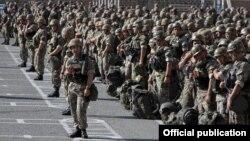 Հայ խաղաղապահների զորավարժությունները Հայաստանում, սեպտեմբերի, 2015 թ․