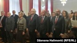Ivo Josipović na svečanosti u Rektoratu Univerziteta u Sarajevu