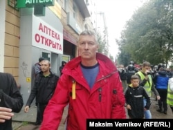 Евгений Ройзман на митинге в Екатеринбурге