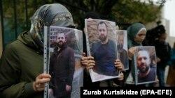 Грузия, митинг после убийства Хангошвили