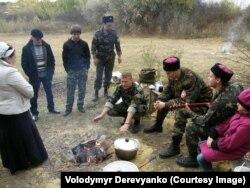 Бійці в гостях у Рубанівському