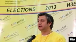 Прес-конференција на директорот на Граѓанската асоцијација МОСТ Дарко Алексов
