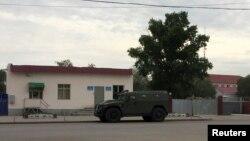 У воинской части 6655 Нацгвардии в Актобе..