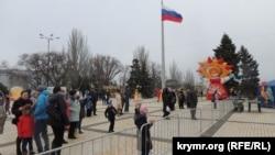 Святкування Масляної в Керчі, 17 лютого 2018 року
