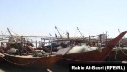 مرفأ صيد الأسماك في قضاء الفاو