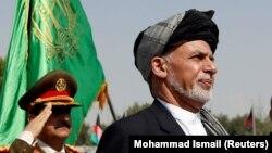 Owganystanyň prezidenti Aşraf Ghani, Kabul, 19-njy awgust, 2017.