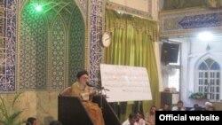 آیتالله دستغیب در مسجد قبا