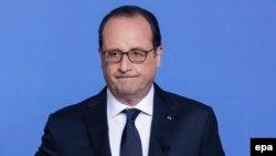 Франция президенты Франсуа Олланд