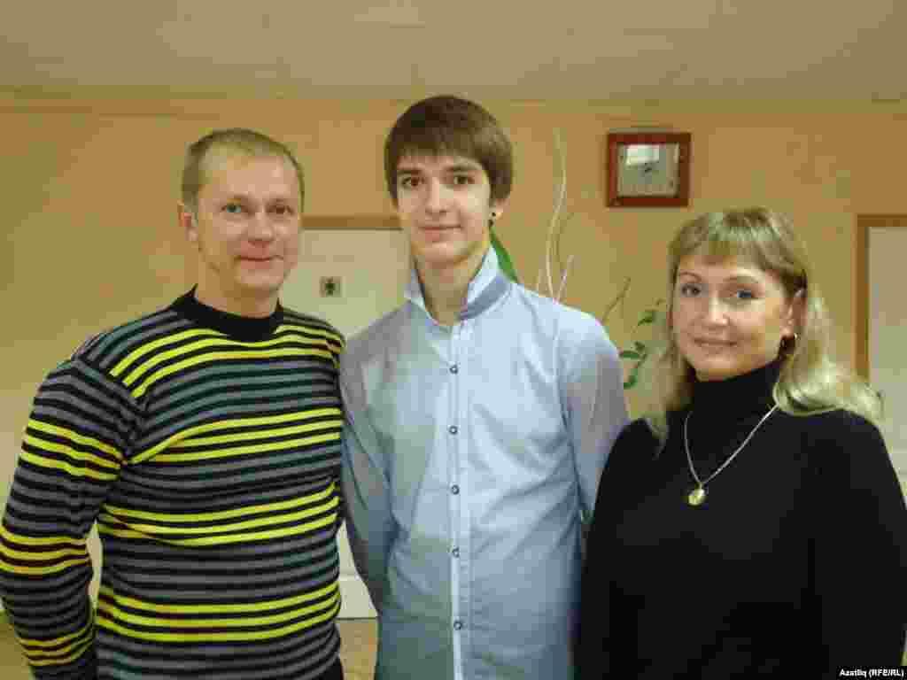 Третьяковлар гаиләсе: Дмитрий, Виталий, Илсөя