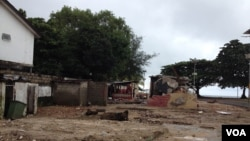 Prizor poslije poplava, Sijera Leone