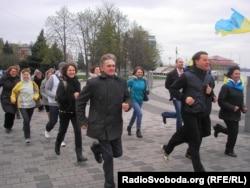 Забег за мир в Днепропетровске