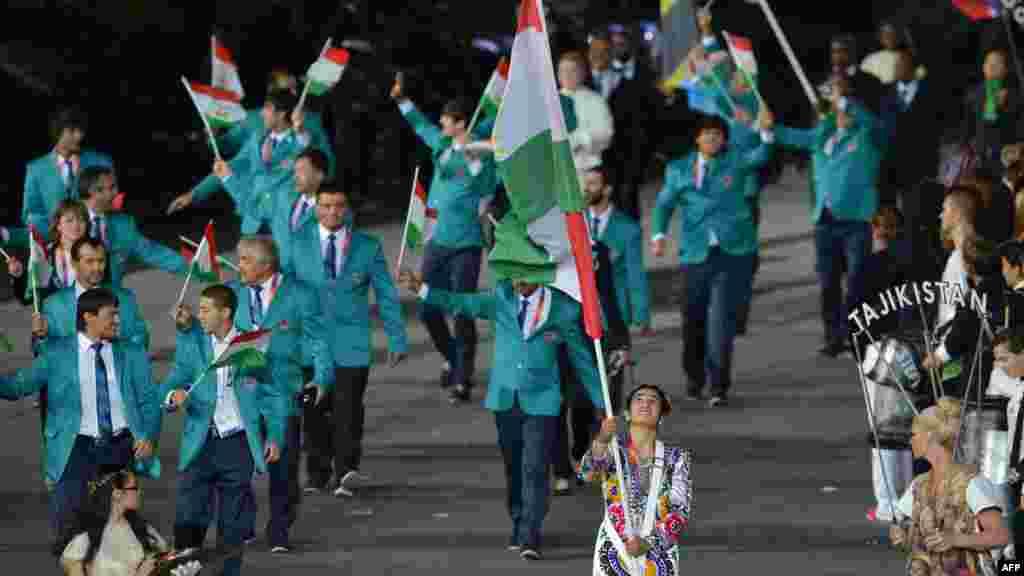 Олимпийская сборная Таджикистана