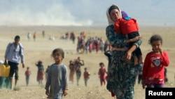 Cирийские беженцы