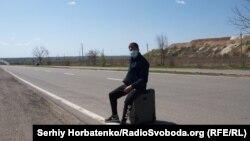 Антон, житель Макеевки, на КПВВ «Новотроицкое», 24 апреля 2020 года