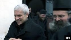 Në Manastirin e Deçanit, 6 janar 2009.