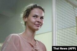 Настя Рибка в тайській тюрмі, 20 серпня 2018 року