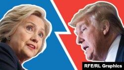 Son rəy sorğularına görə demokrat namizəd Clinton populyarlıqda Trump-ı geridə qoyur