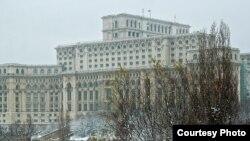 Pamje e Parlamentit të Rumanisë në Bukuresht