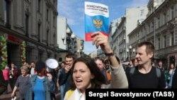 Акция оппозиции в Москве, 3 августа 2019 года