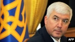 Дмитрий Саламатин в бытность министром обороны Украины