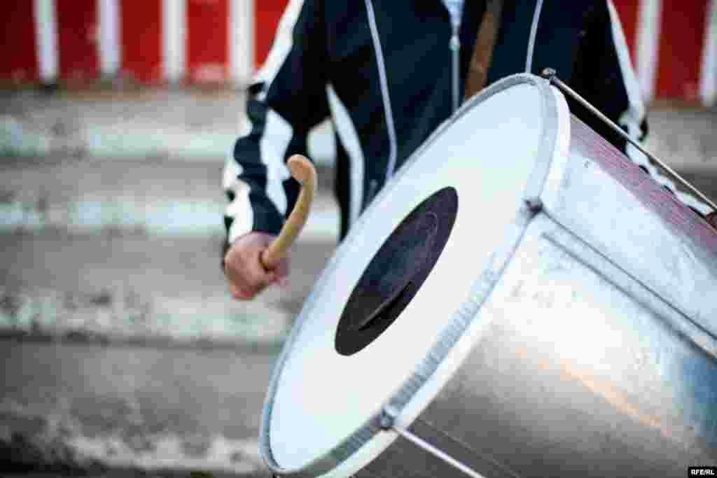 The Drummers Of Macedonia's Semka Band #30
