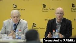 Sa konferencije za novinare Transparensi Srbija u Beogradu, 1. decembar 2011.