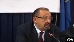 Kosovo - Director of the Board of the Privatization Agency, Dino Asanaj.