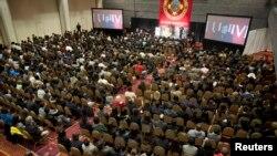 Церемония памяти погибшей при теракте в Бостоне студентки Лю Линцзи