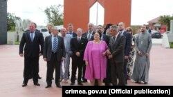 Мария Владимировна по прибытии в Крым