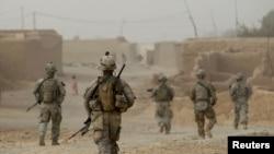 Trupat amerikane në provincën Kandahar të Afganistanit.