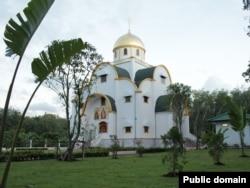 Православный храм Святой Живоначальной Троицы на таиландском острове Пхукет