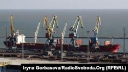 Порт Мариуполь на Азовском море
