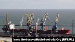 Порт Мариуполь на Азовском море. Архивное фото.