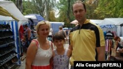 Nina, Georgiana și Lilian Globa