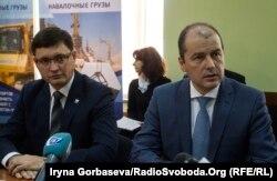 (слева направо) Вадим Бойченко и Александр Олейник